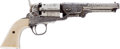 Handguns:Single Action Revolver, Engraved Continental Colt Brevette Model 1851 Navy Percussion Revolver by C. Clement....