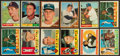 Baseball Cards:Lots, 1960 - 1962 Topps Baseball Stars & HoFers Collection (60). ...