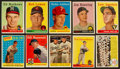 Baseball Cards:Lots, 1958 Topps Baseball Collection (317) With Stars & HoFers. ...