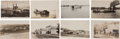 Western Expansion:Goldrush, Real Photo Postcards: Eight South Dakota Stages & UpperMissouri Steamers & Towns,... (Total: 8 Items)