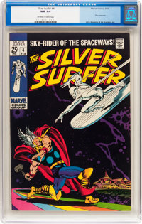 The Silver Surfer #4 (Marvel, 1969) CGC NM 9.4 Off-white to white pages