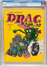 Drag Cartoons #1 (Millar Publishing, 1963) CGC NM+ 9.6 Off-white to white pages