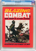 Magazines:Miscellaneous, Blazing Combat #2 (Warren, 1966) CGC VF+ 8.5 Cream to off-whitepages....