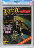 Magazines:Horror, Web of Horror #1 (Major Magazines, 1969) CGC NM- 9.2 White pages....