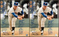 Baseball Collectibles:Others, New York Mets Greats Multi Signed Tom Seaver Oversized PhotographsLot of 2. ...
