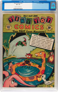 Golden Age (1938-1955):Funny Animal, Tiny Tot Comics #2 (EC, 1946) CGC VF- 7.5 Cream to off-whitepages....