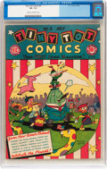 Golden Age (1938-1955):Funny Animal, Tiny Tot Comics #3 (EC, 1946) CGC VF- 7.5 Cream to off-whitepages....