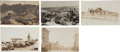 Western Expansion:Goldrush, Real Photo Postcards: Five Nevada Gold Mining Town Scenes,...(Total: 5 Items)