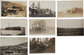 Western Expansion:Goldrush, Real Photo Postcards: Eight Montana Town Scenes,... (Total: 8Items)