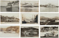 Transportation:Nautical, Real Photo Postcards: Nine Ohio River Steamers,... (Total: 9 Items)