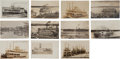 Advertising:Paper Items, Iowa Steamboat Real Photo Postcards.... (Total: 11 Items)