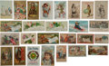Advertising:Paper Items, 19th Century Trade Cards Including California Issues. ... (Total:26 Items)