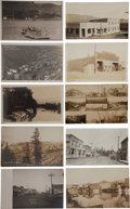 Transportation:Nautical, Real Photo Postcard: Ten Idaho Ferry and Town Scenes, ... (Total: 10 Items)