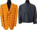 Music Memorabilia:Costumes, The Who's John Entwistle Personally-Owned Jackets.... (Total: 2 Items)