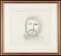 Music Memorabilia:Original Art, The Who's John Entwistle Fan Portrait (1977)....