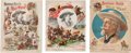 Western Expansion:Cowboy, Buffalo Bill Wild West: Group of Three Programs.... (Total: 3Items)