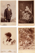 Photography:Cabinet Photos, Four Cabinet Cards: Queen Victoria et al.... (Total: 4 Items)