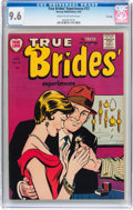 Golden Age (1938-1955):Romance, True Brides' Experiences #12 File Copy (Harvey, 1955) CGC NM+ 9.6Cream to off-white pages....