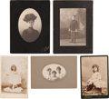 Photography:Cabinet Photos, Five Cody Family Photos. ... (Total: 5 Items)