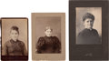 Photography:Cabinet Photos, Three Cody Family Photographs. ... (Total: 3 Items)