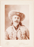 Photography:Cabinet Photos, Photograph of Buffalo Bill. ...