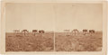"Photography:Stereo Cards, Stereoview: ""Arapahoe's Graves 6 Miles from Camp Robinson, Nebraska""...."