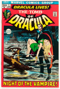 Bronze Age (1970-1979):Horror, Tomb of Dracula #1 (Marvel, 1972) Condition: VF+....