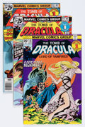 Bronze Age (1970-1979):Horror, Tomb of Dracula Group (Marvel, 1975-79) Condition: Average FN+....(Total: 23 Comic Books)