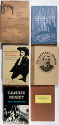Books:Americana & American History, [Western Americana]. Group of Six Books. Very good or bettercondition.... (Total: 6 Items)
