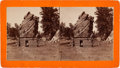 """Photography:Stereo Cards, Stereoview: """"Bear Rock, French Creek near Custer City""""...."""