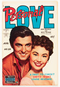 Golden Age (1938-1955):Romance, Personal Love #28 (Famous Funnies, 1954) Condition: FN/VF....