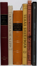 Books:Americana & American History, [Texana]. Group of Six Books. Very good or better condition....(Total: 6 Items)