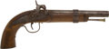 Handguns:Muzzle loading, Civil War Single-Shot Percussion Belt Pistol. ... (Total: 2 Items)
