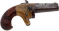 Handguns:Derringer, Palm, National Arms Co. Single-Shot No. 2 Brass-Framed Derringer....