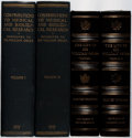 Books:Medicine, [Medicine]. William Osler. Group of Two Books in Four Volumes. Verygood or better condition.... (Total: 4 Items)
