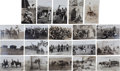 Western Expansion:Cowboy, Real Photo Postcards: 20 101 Ranch & Geronimo Scenes byMartin.... (Total: 20 Items)