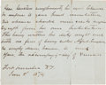 Autographs:Military Figures, George Armstrong Custer: Desirable Autograph Letter Signed Writtenfrom Fort Abraham Lincoln....