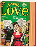Golden Age (1938-1955):Romance, Young Love V2#1-12 Bound Volume (Prize, 1950-51)....