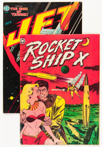 Comic Books - Assorted Golden Age Science Fiction Comics Group (Various Publishers, 1950s).... (Total: 2 Comic Books)