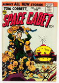 Golden Age (1938-1955):Science Fiction, Tom Corbett, Space Cadet #2 (Prize, 1955) Condition: VF-....