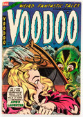 Golden Age (1938-1955):Horror, Voodoo #17 (Farrell, 1954) Condition: FN....