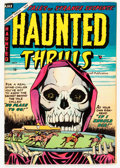 Golden Age (1938-1955):Horror, Haunted Thrills #18 (Farrell, 1954) Condition: FN+....