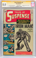 Silver Age (1956-1969):Superhero, Tales of Suspense #39 Signature Series (Marvel, 1963) CGC VF 8.0 Off-white pages....