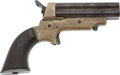 Handguns:Derringer, Palm, Sharps 4-Barrel Derringer....