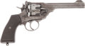 Handguns:Double Action Revolver, British Webley Mark VI Double Action Revolver....