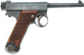 Handguns:Semiautomatic Pistol, Early Japanese Nambu Type 14 Semi-Automatic Pistol....
