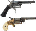 Handguns:Single Action Revolver, Lot of Two Pocket Revolvers.... (Total: 2 Items)