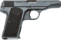 Handguns:Semiautomatic Pistol, Pre-War FN Browning Model 1910 Semi-Automatic Pistol....
