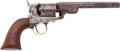 Handguns:Single Action Revolver, Rare Japanese Surcharged Colt Fourth Model Navy PercussionRevolver....