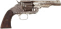 Handguns:Single Action Revolver, Smith & Wesson First Model Schofield Revolver with US and Wells Fargo Markings....